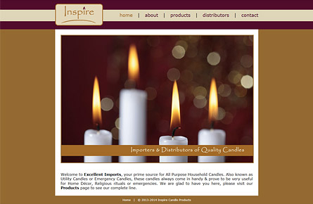 Inspire Candle Products | www.inspirecandleproducts.com